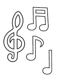 Okul Oncesi Notalar Google Da Ara 2020 Boyama Sayfalari Muzik Calisma Kagitlari Muzik Notalari