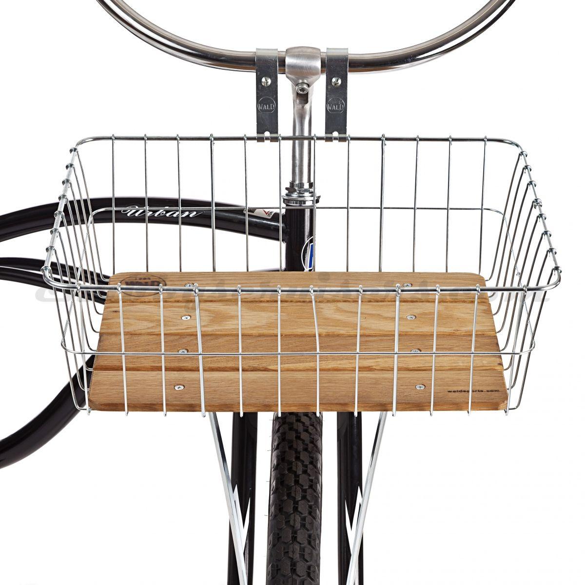 Wald Woody\'s Wood Slatted Bicycle Basket. | Bikes | Pinterest ...
