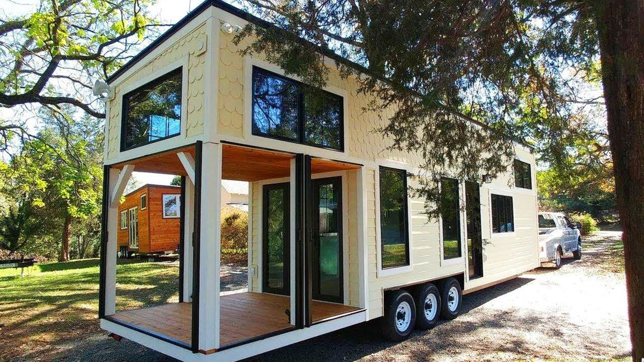 Absolutely Beautiful Burrow Tiny House Perfectly Blends