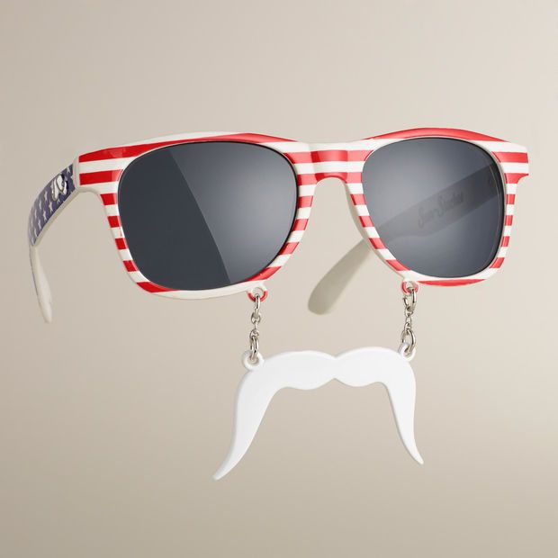 2138a626fbd3 PATRIOTIC SUN-STACHE SUNGLASSES