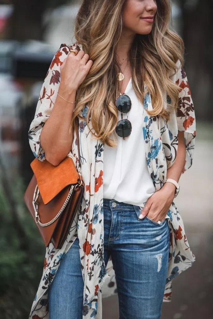 70 insane summer outfits to impress everyone 19 ~ Litledress is part of Kimono fashion -