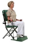 Treningsstolen er det første treningsapparatet utviklet for godt voksne mennesker. På en enkel og trygg måte trener du hele kroppen. Treningen vil gi økt energi, styrke, fleksibilitet og balanse. Treningsstolen krever ingen montering og det er bare å vippe den ut. Nårstolen ikke er i bruk, slås den sammen slik at den tar minimalt med plass.