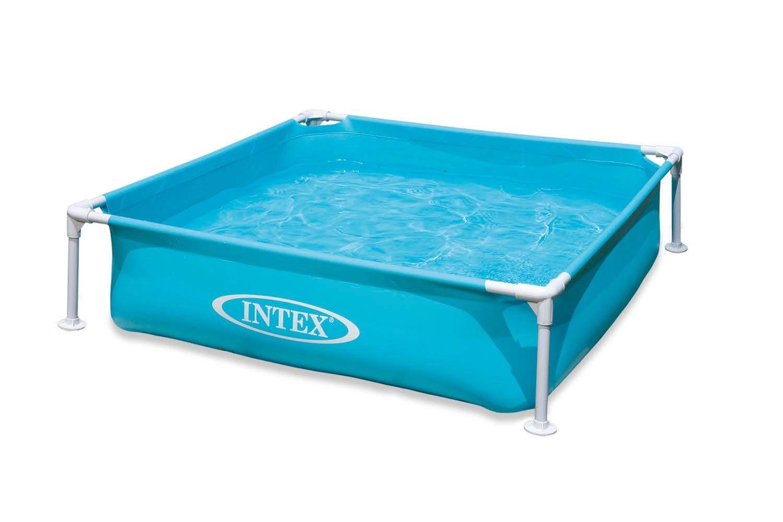 Intex mini frame pool blue 57173dep in 2020