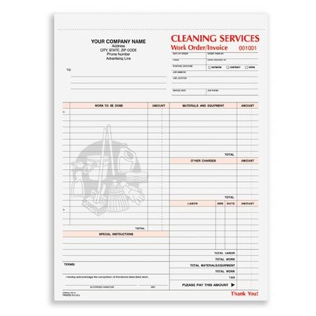 CWICC-797, Cleaning Services Work Order