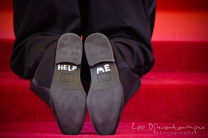 help me on grooms shoe soles kent island methodist church kiumc wedding photographer maryland