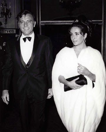Richard Taylor And Elizabeth Burton At The Height Of Their Fame Elizabeth Taylor Burton And Taylor Richard Taylor