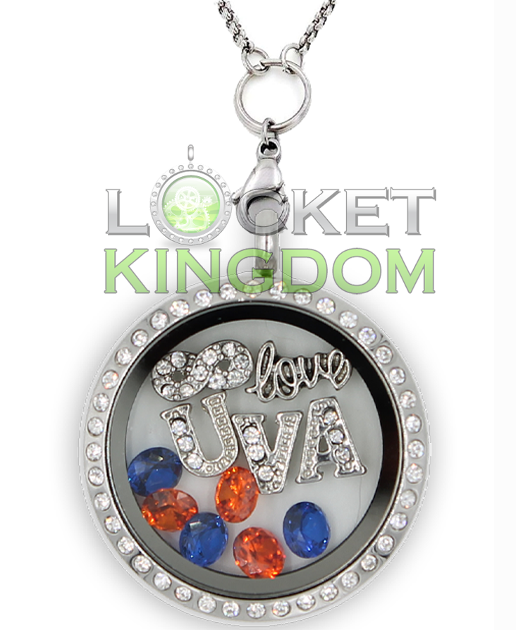 Infinity Love Virginia Charm Locket