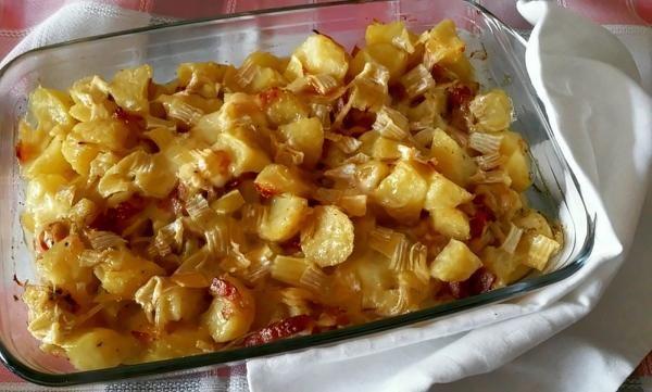 Receta de Tartiflette al reblochon – Patatas gratinadas a la francesa