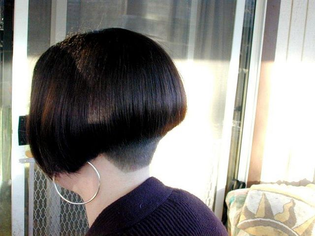 Dos De Cheveux Courtes, Coupe De
