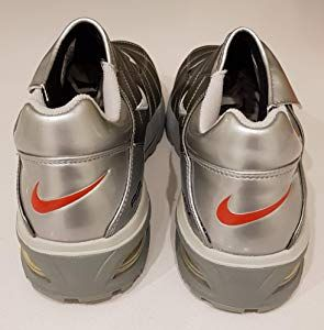 Nike 2003 Air Max Total 365 Football Trainers Chrome Grey