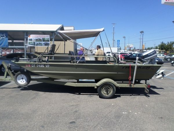 2010 Tracker 1754 Fishing Or Hunting Boat Boats Tracker