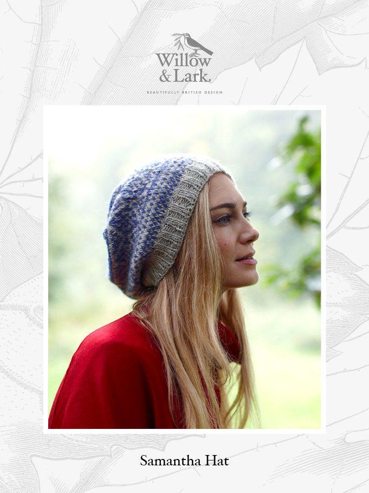Samantha Hat in Willow & Lark Woodland