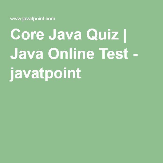 Javatpoint Core Java Pdf