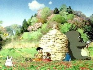 ジブリ となりのトトロの高画質 壁紙 画像集 イラスト Iphone スマホ 無料 Studio Ghibli Movies Ghibli Movies Totoro