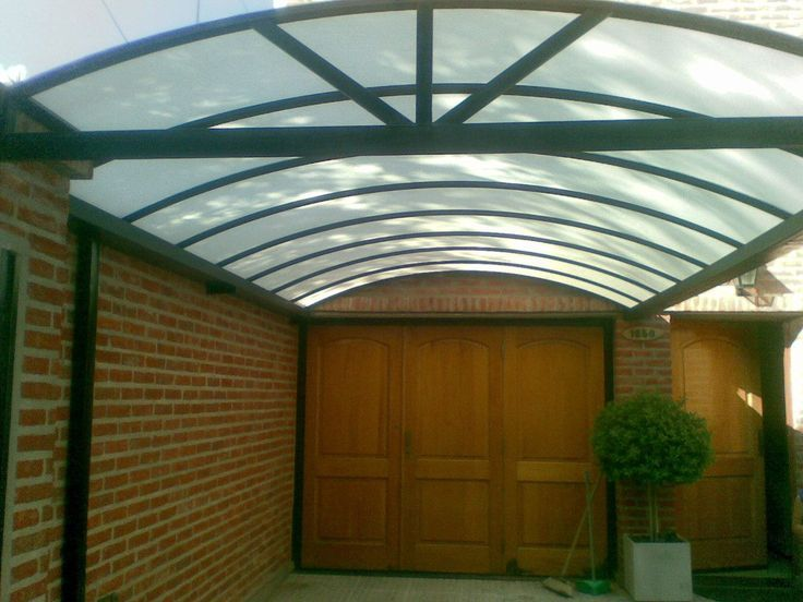 Resultado de imagen para techos de policarbonato for Jardines pequenos techados