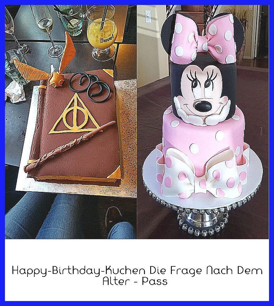 Photo of Happy-Birthday-Kuchen Die Frage nach dem Alter – Pass –  Harry Potter-Kuchen Gri…
