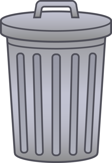 Trash Can Clip Art With Images Trash Can Art Clip Art