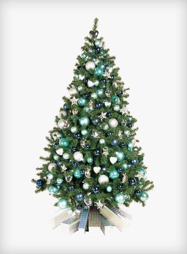 Met Blauw Kerst Thuis Kerst Kerstversiering