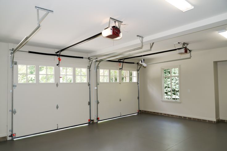 New Style Two Door Garage See Inside For New Garagedoors And Have Questions Visit At Http Www Automatic Garage Door Garage Door Installation Garage Doors