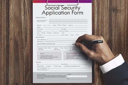 Supplemental Security Income vs Social Security Disability - social security application form