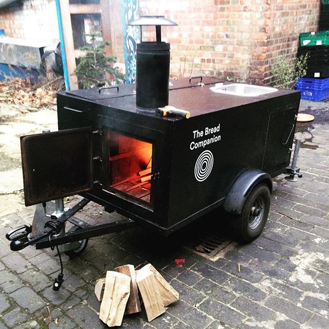 The Bread Companion wood fired portable oven!