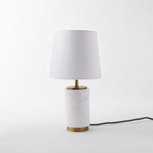 Pillar Marble Table Lamp In 2020 Marble Table Lamp Table Lamp Modern Table Lamp