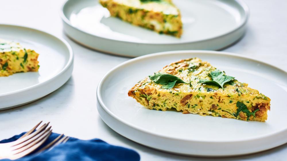 Photo of Zucchini + Caramelized Onion Frittata – barre3