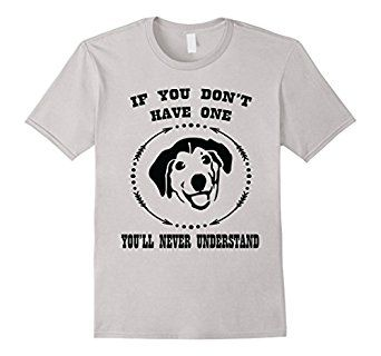 Amazon Com Proud Dog Owner Mixed Breed Mutt Lover Funny T Shirt