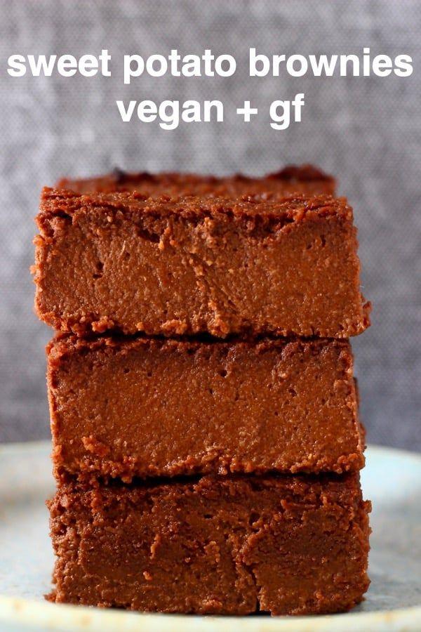 Sweet Potato Brownies (Vegan + GF)