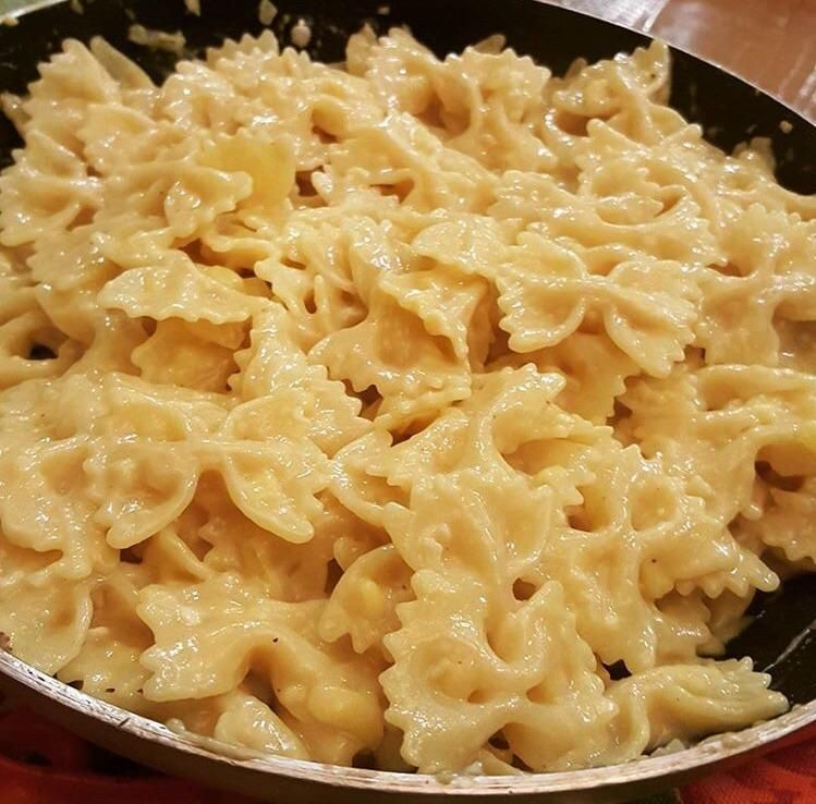 I made unbelievably delicious mac and cheese using field