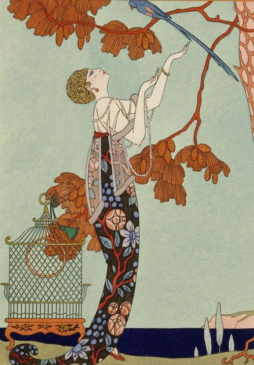 French artist Georges Barbier 1882-1932