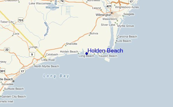 Holden Beach Nc Map Holden Beach, North Carolina — Photos, Maps & News — TravelTempters Holden Beach Nc Map