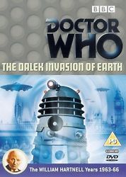 Doctor Who DVD Dalek Invasion Of Earth 2 Disc Region 2 SCI-FI Series 1st Doctor