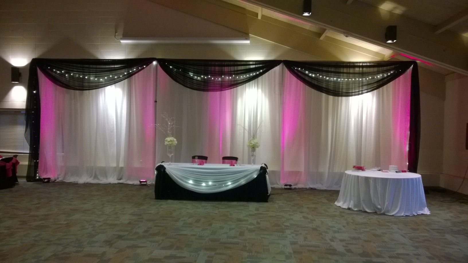 drapes bay black is authorized area white ceiling an rental the drape of cheerspub systems and info pipe serving dealer