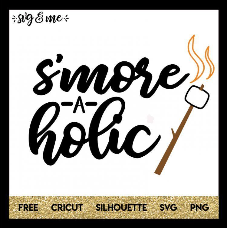 Smoreaholic Camping Cricut, Cricut tutorials