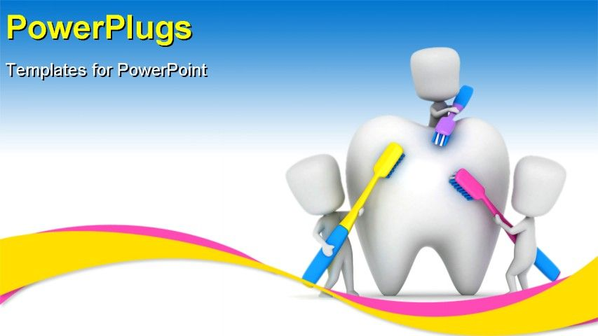 Tooth brushing powerpoint ppt template tooth brushing powerpoint backgrounds