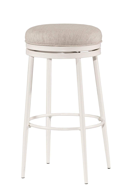Amazon Com Hillsdale Furniture 4556 828 Aubrie Swivel Backless