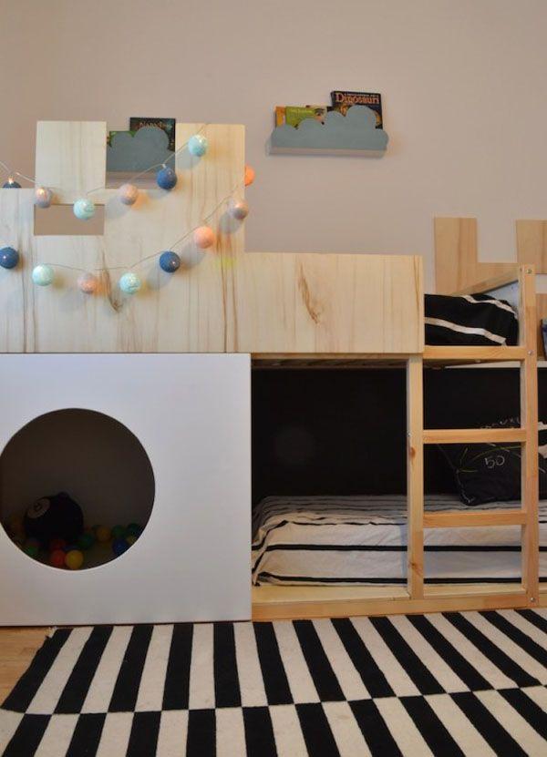 Ikea Hack La Cama Kura Se Convierte En Castillo Kids Stuff