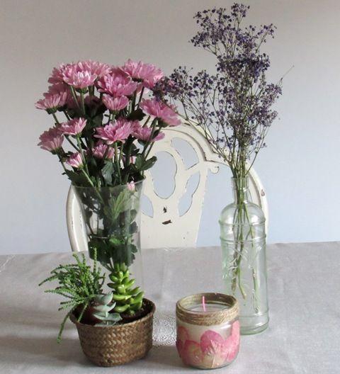 Qué DIY podemos hacer con flores secas? Flowers - flores secas