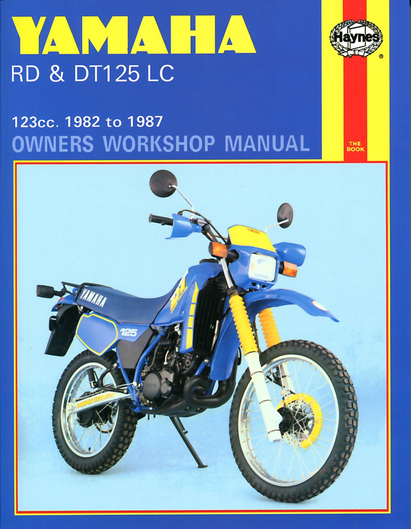 haynes m887 repair manual for 1982 87 yamaha rd and dt 125 lc rh pinterest com CDI for Yamaha WR 200 Yamaha 200 Dual Sport Motorcycle
