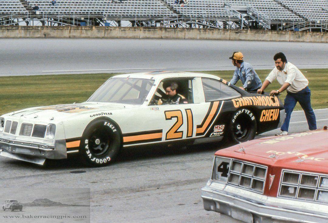 Larry Pearson S Pontiac Daytona Old Race Cars Vintage Racing Stock Car