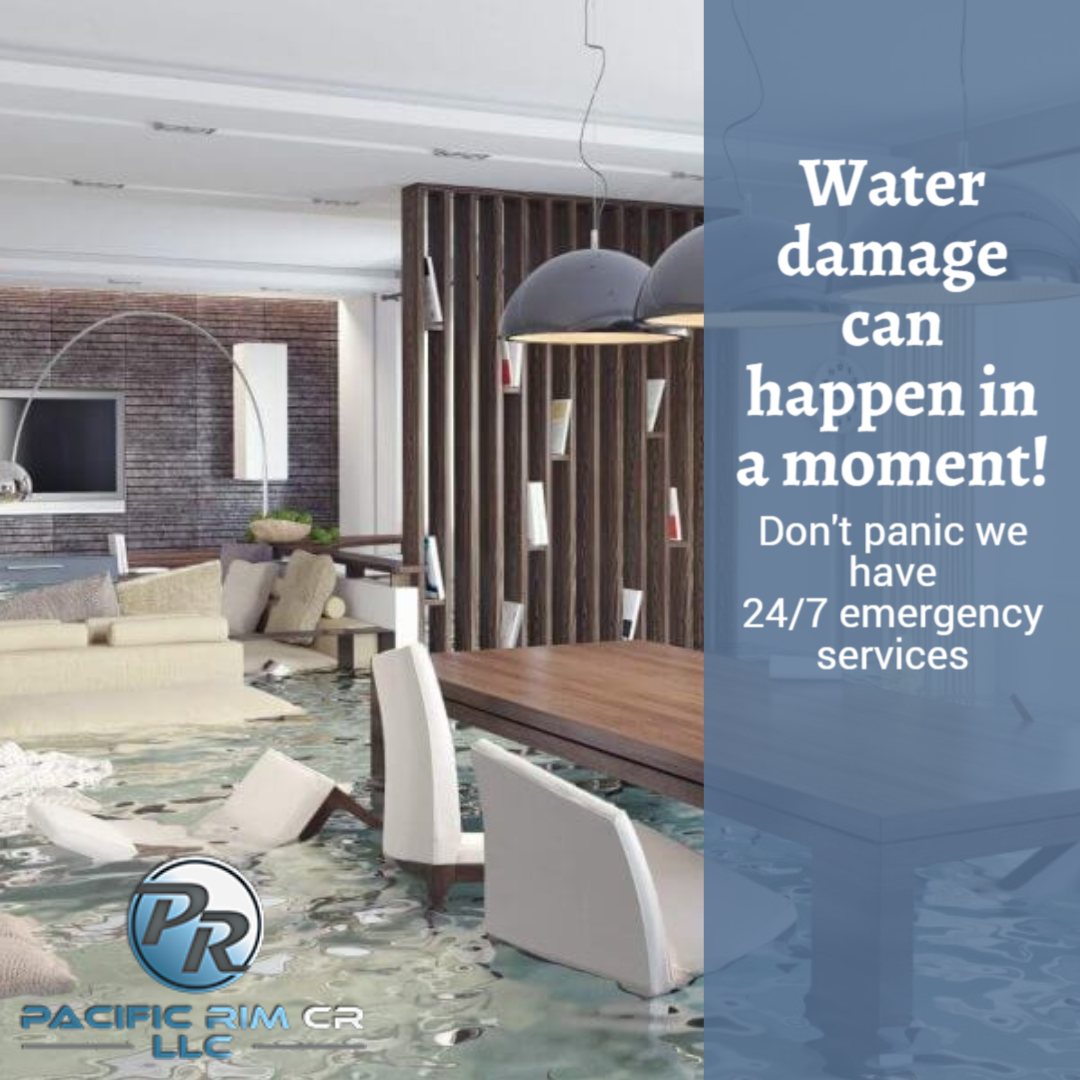 Water Damage Can Happen In A Moment Have An Insurance Claim Are