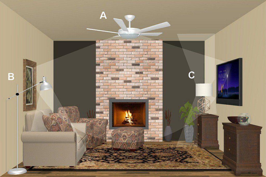 Colorpai 3w modern fashion ceiling living room home ...