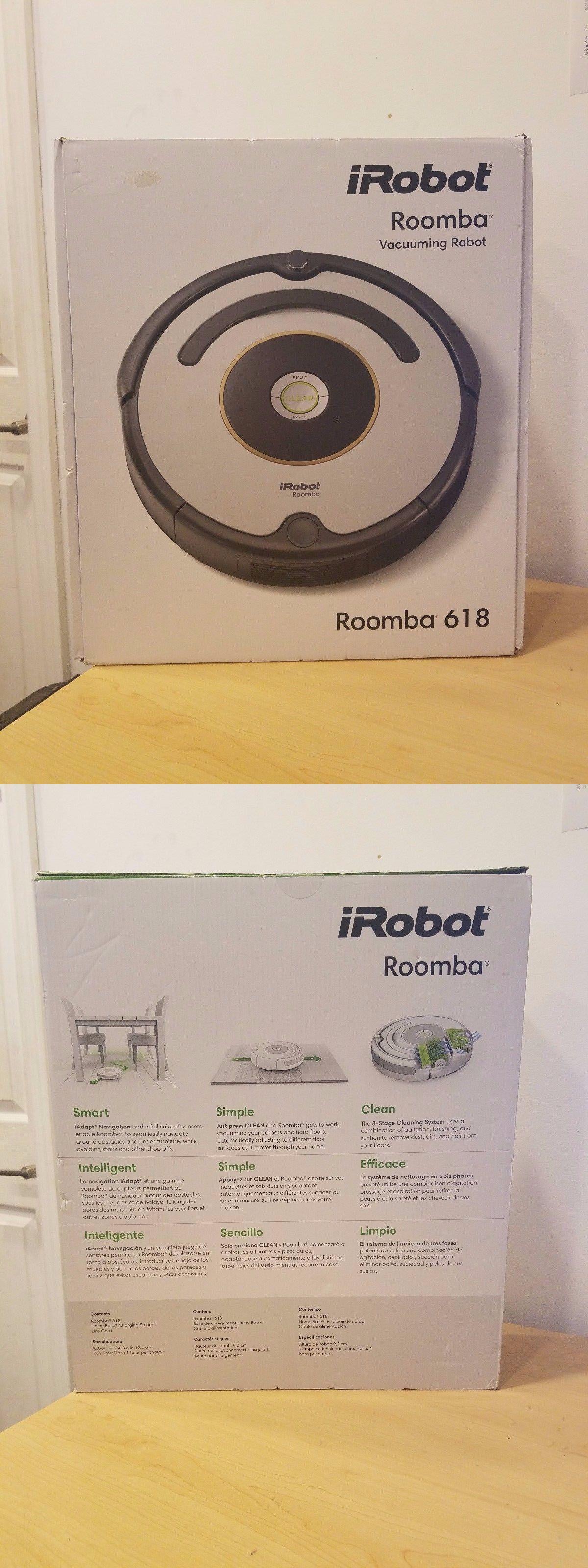 Brand iRobot Roomba 618 Automatic Vacuum Cleaner Robot