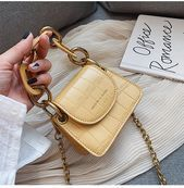 Photo of Buy Miloes Faux Leather Mini Shoulder Bag | YesStyle Buy Miloes Art …