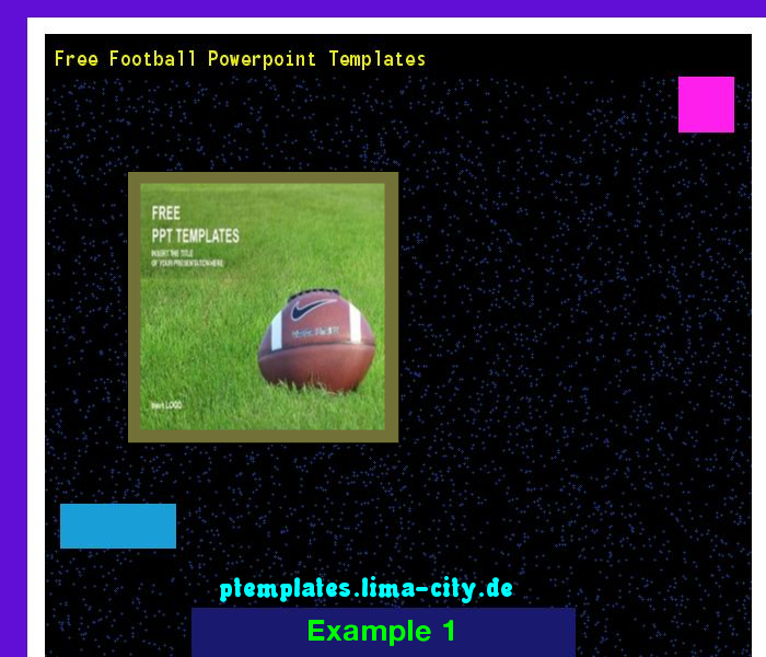 free football powerpoint templates. powerpoint templates 134742, Modern powerpoint