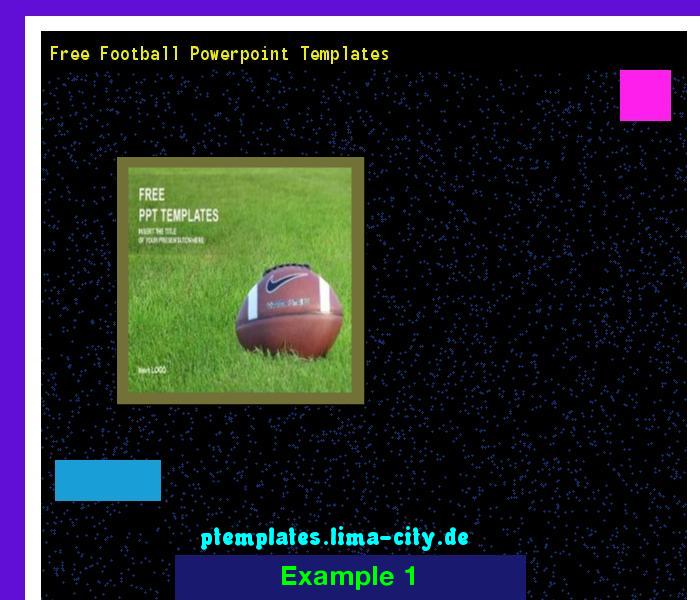 Free Football Powerpoint Templates Powerpoint Templates 134742