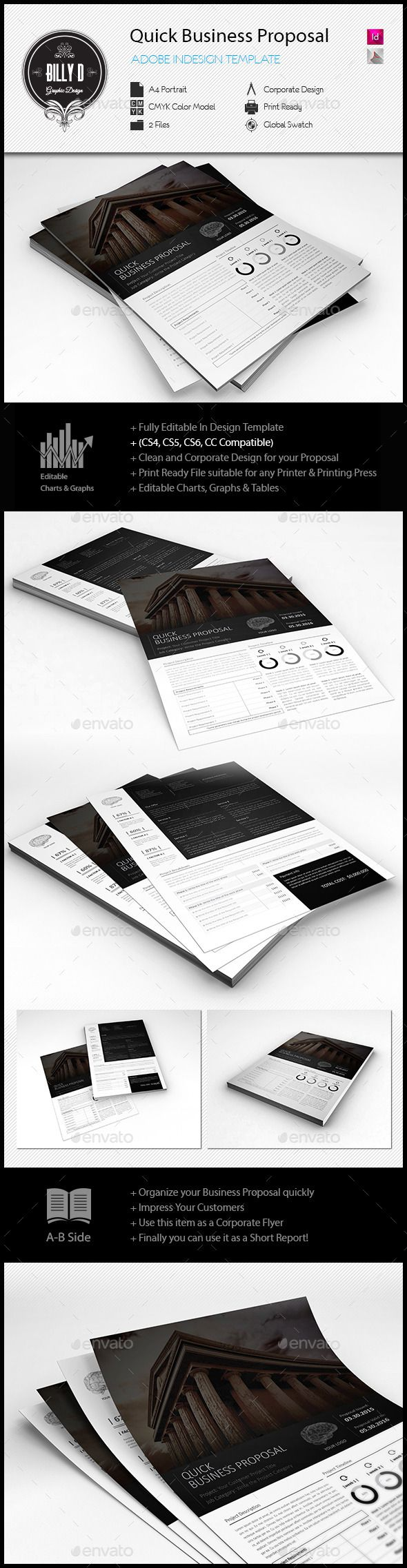 Quick Business Proposal Template Business Proposal Template