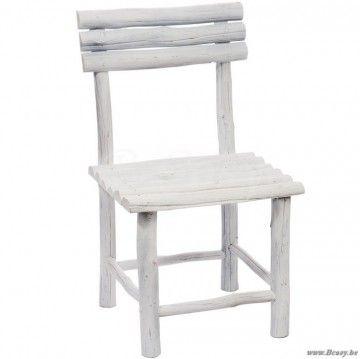 Houten Kinderstoel Wit.J Line Witte Houten Kinderstoel In Wit Ruw Hout 65h Jline Jolipa