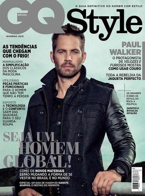 magazine gq style 2013 paul walker reach out worldwide pinterest homme de ma vie. Black Bedroom Furniture Sets. Home Design Ideas